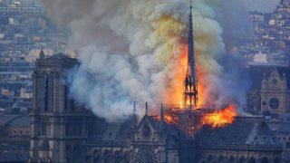 فرنسا حريق